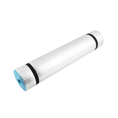 N/V ligero 180x60x0.6cm estera lavable ejercicio fitness pad plegable piso juego cojín universal camping Mat