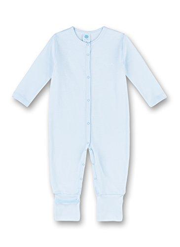Sanetta Baby-Jungen Overall Schlafstrampler, Blau (Soft Blue 50266.0), 86