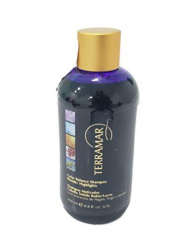 Shampoos Matizadores Violeta marca Terramar