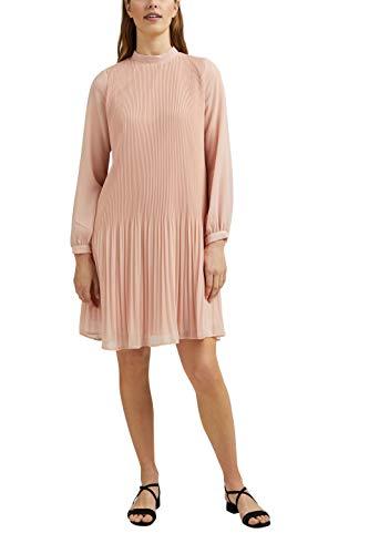 ESPRIT Collection Damen 031EO1E320 Kleid, 685/NUDE, 40