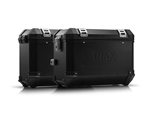 SW-MOTECH - Sistema de maletas TRAX ION Negro. 45/37 l. CRF1000L Africa Twin (15-17).