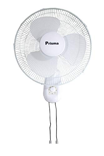 Prisma - WF-45 Ventilador pared - 3 velocidades - Color blanco