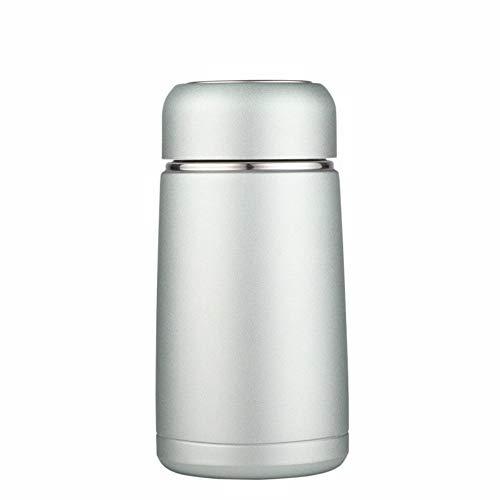 MSNLY Taza portátil Taza portátil Creativa Taza de Viaje aislada, Botella de Agua aislada de Acero Inoxidable para café Taza aislada de Acero Inoxidable 304 Mini Taza Taza portátil Creativa