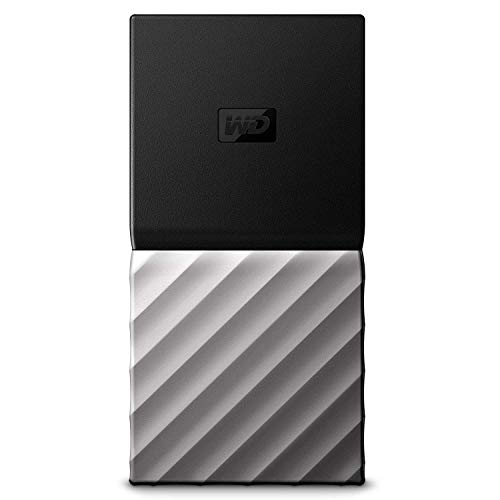 WD My Passport SSD, Almacenamiento portátil de 512GB, Color Negro compatible con PC, Xbox One y PS4