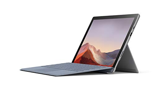 "Microsoft Surface Pro 7 12.3"" Tablet (Platinum) - Intel 10th Gen Quad Core i5, 8GB RAM, 256GB SSD, Windows 10 Home, 2019 Edition"