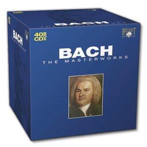 Les chef d'oeuvres de Bach en 40 CD