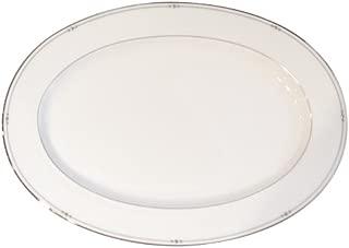Royal Doulton Precious Platinum 14-1/4-Inch Platter