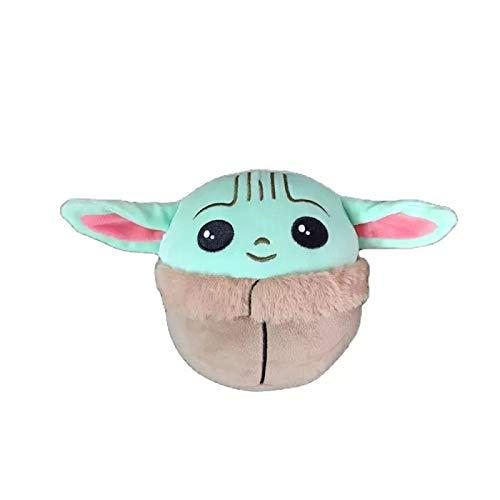 Juguete De Peluche De Felpa, Lindo Peluche De Star Wars Yoda, para Niños Muñecos De Peluche Suave, para Regalo De Cumpleaños De Navidad Coleccionable para Niños,13cm