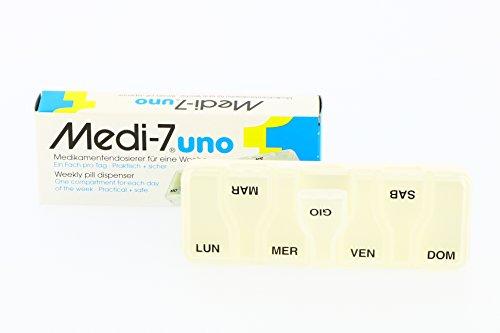 MEDI 7 Uno Medikamenten Dosierer f.7 Tage, 1 St