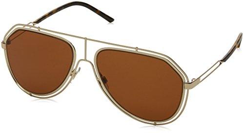 Dolce & Gabbana 0Dg2176 Gafas de sol, Pale Gold, 59 para Hombre