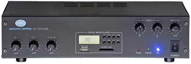 ACOUSTIC CONTROL AC-300 USB Amplificador PA USB 2 Ent. Micro/Linea
