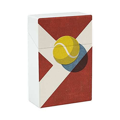Zigarettenetui für Tennisbälle aus Kunststoff, leicht, für Damen und Herren