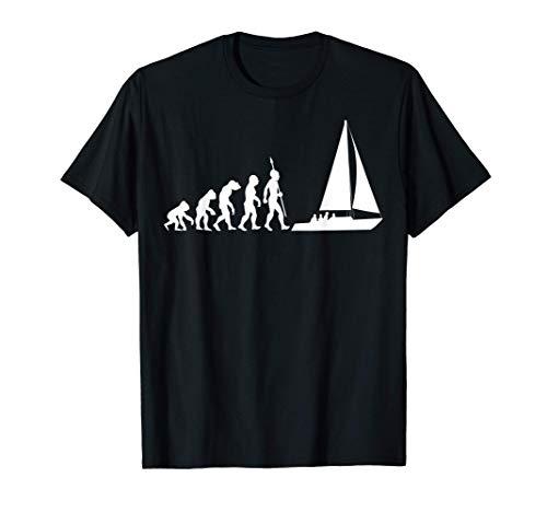 Evoluzione andare in barca a vela sport acquatici Capitano Maglietta