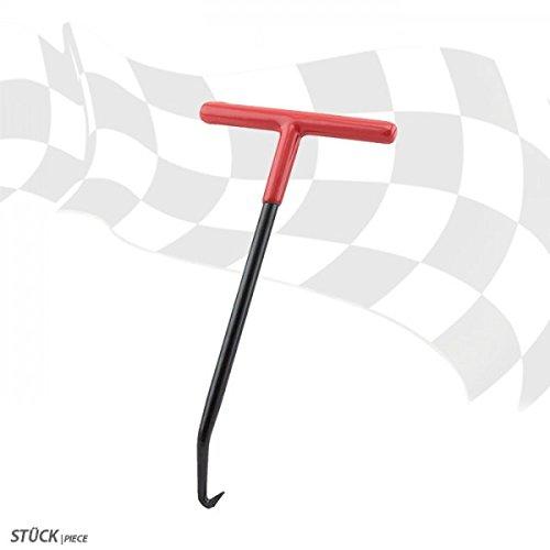Federzieher Hakenschlüssel Federhaken Stahl Länge: 155mm