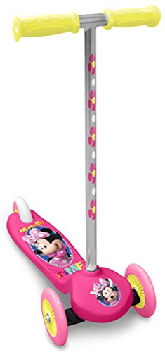 Stamp Minnie Steering Scooter, Niñas, Rosa, 2