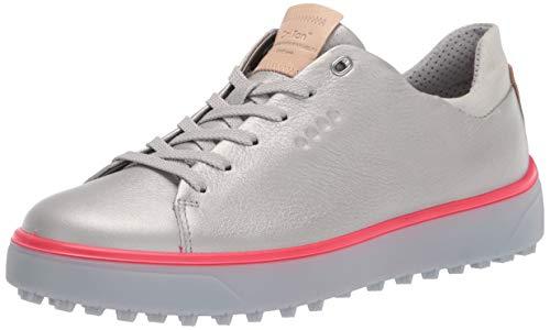 ECCO Damen Golf Tray Golfschuh, Alusilber, 39 EU
