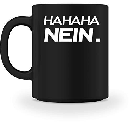 Generieke HAHAHA Nee! Grappig sarkasme-motief - eenvoudig en grappig design - mok