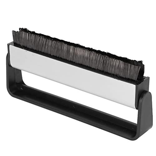 Annadue Cepillo Limpiador de Discos de Vinilo GK-R01, Cepillo Limpiador de Discos de Fibra de Carbono Antiestático para Tocadiscos, Kit de Limpieza de Discos para Discos de Vinilo