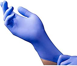 TWENOZ Presents Nitrile Disposable Examination Powder & Latex-free Hand Gloves (Pack of 10)