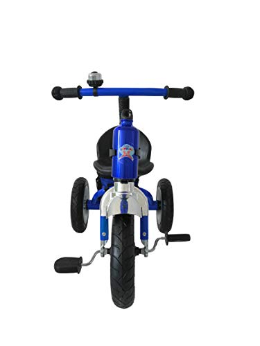 3 Wheeler Blue Trike Tricycle Kids Child Children Trike Tricycle Ride-On...