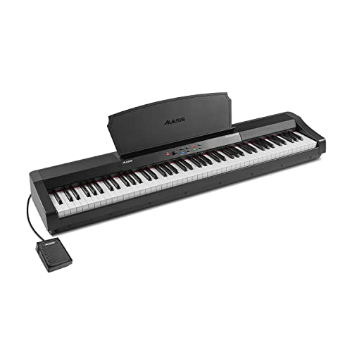 Alesis Recital Grand - 88 Key Digital Piano with Full Size Graded Hammer Action...