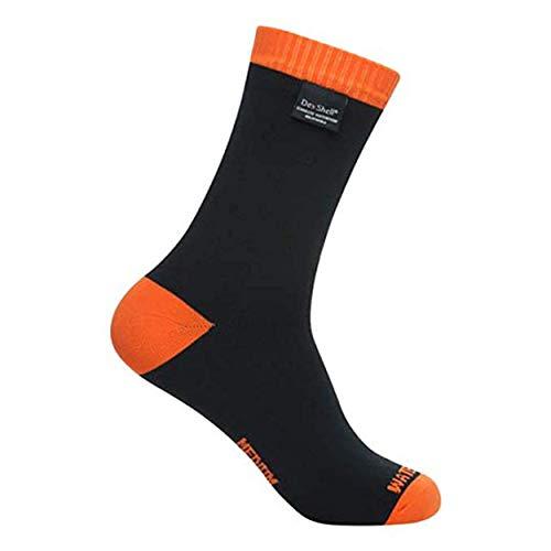 DexShell Thermlite Waterproof Merino Wool Socks - Black/Orange - Medium