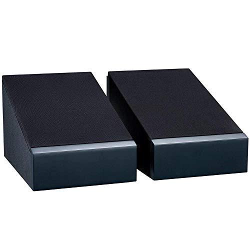 Monitor Audio AMS 6G   Dolby Atmos® Enabled-Lautsprecher  Farbe: Schwarz   Paar   Heimkino   2-Wege   8 Ohm   60 Watt   Dolby Atmos®-Zertifiziert   Geschlossenes Gehäuse   Passiv