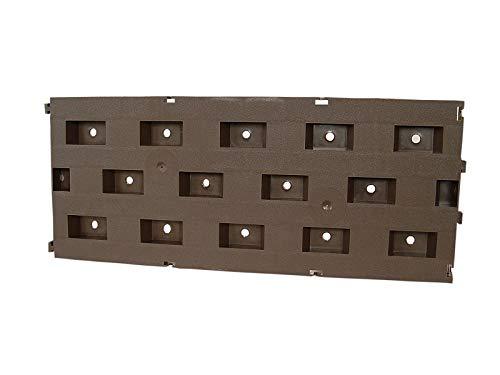 innogard Beetplatten 10er Set Bodenplatten Wegplatten steckbar
