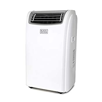 BLACK+DECKER BPACT14HWT Portable Air Conditioner with Heat and Remote Control 7,500 BTU DOE  14,000 BTU ASHRAE  Cools Up to 350 Square Feet White