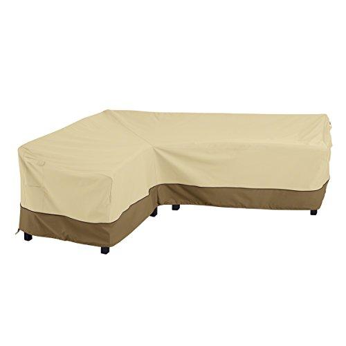 Classic Accessories Veranda L-Shaped Sectional Housse de canapé Large