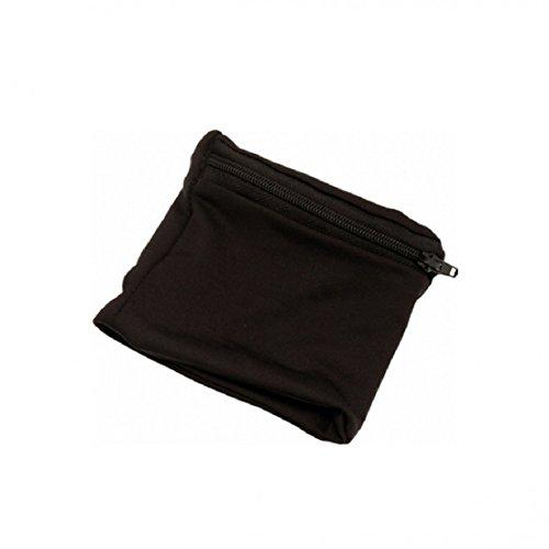 Giffits GmbH Armbandtasche Geldbörse Handgelenktasche Sporttasche Geldbeutel (schwarz)