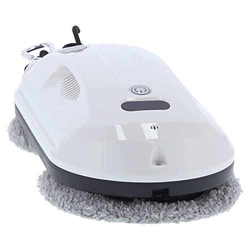 Robot De Limpieza De Ventanas Aspirador, Robot Limpiador De Ventanas De Bajo Ruido, Material ABS, Soporte G-sensor, Con Control Remoto 2.4G, Tanque De Agua De 35ml(Enchufe de la UE)