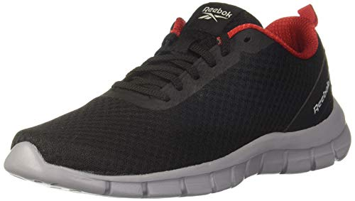 Reebok Men's Flight Lite Lp Black/Red Rush/Cool Shadow Running Shoes-9 UK (43...
