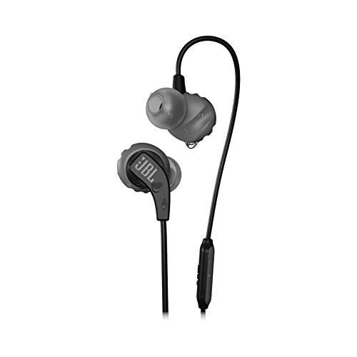 JBL Endurance Run, in-Ear Sport Headphone with One-Button Mic/Remote - Black
