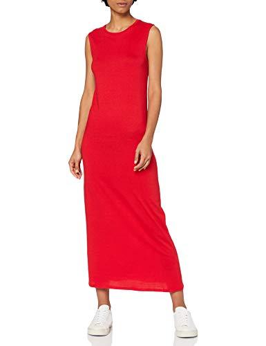 Marca Amazon - MERAKI Vestido Maxi Slim Fit de Algodón Muje