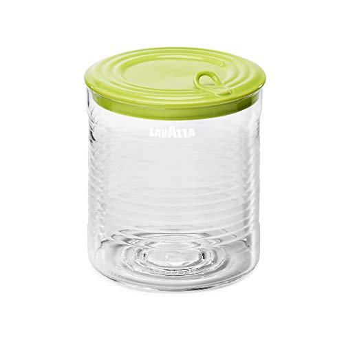 Lavazza Seletti - Portacápsulas ideal para cápsulas A Modo Mio y compatibles con Nespresso, dispensador de diseño y colorido, capacidad para hasta 45 cápsulas, verde