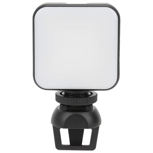 BHDK Anillo de luz LED, Clip Recargable en luz de Flash de Foto para teléfono Inteligente para fotografía Chica maquilla