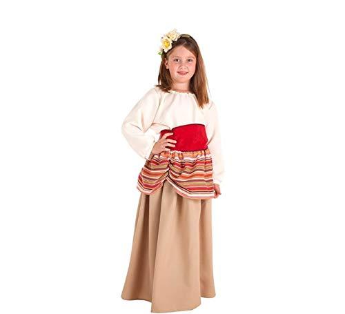 Creaciones Llopis Disfraz de Campesina Medieval Carlota para niña