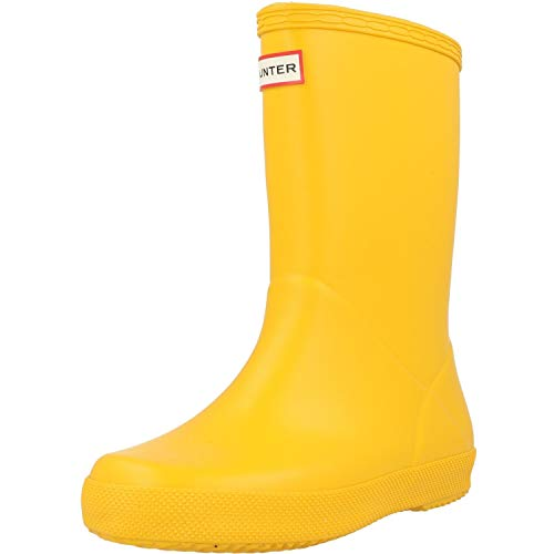 Hunter Kids First Classic Amarillo Caucho 33 EU