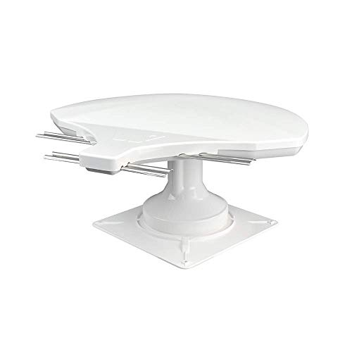 Winegard RZ-6000 Rayzar z1 RV TV Antenna (HD, Digital, 4K Ready, ATSC 3.0 Ready) - White