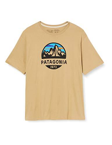 Patagonia M's Fitz Roy Scope Organic T-Shirt für Herren L Classic tan