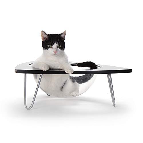 Primetime Petz Hauspanther Tripod - Cat Lounge Pod, Black