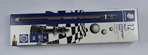 STAEDTLER Bleistift Mars Lumograph black, Härtegrad: HB, Sie erhalten 1 Packung