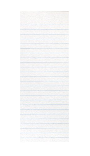 School Smart Spelling Slips - 3 1/2 x 8 1/2 inches - Ream of 500 - White