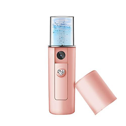 Sarplle Mini Gesichtssauna Nano Gesichts Sprayer Gesichtsdampfer SPA Luftbefeuchter für Gesichtspflege Feuchtigkeitscreme 20ml