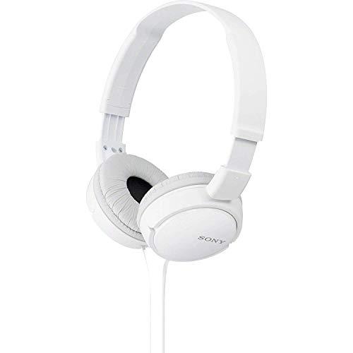 Sony MDR-ZX110 - Auriculares cerrados, blanco