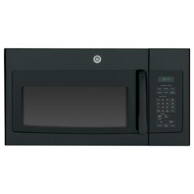 GE JVM6172DFBB 1.7 Cu. Ft. Black Over-the-Range Microwave