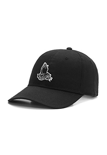 Cayler & Sons Cap Chosen ONE Curved Black White, Size:ONE Size