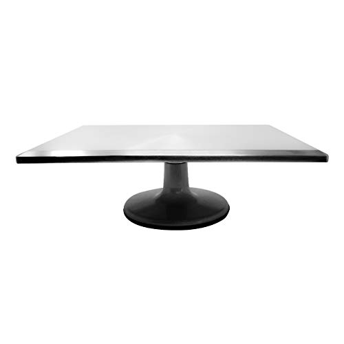 """15.5"""" Rectangle Turntable Cake Stand Base by Trademark Innovations"""