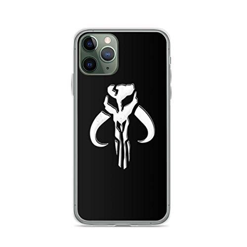 Phone Case Man-dalorian Skull Boba Fett Compatible with iPhone 6 6s 7 8 X XS XR 11 Pro Max SE 2020 Samsung Galaxy Shock Drop Waterproof